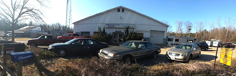 Padgetts Tire & Auto Shop Inc